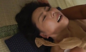 Marvelous Kasumi Yamaguchi craves for fellow's large soaked prick badly